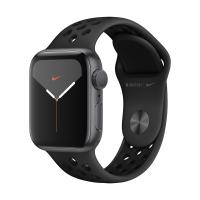 Apple Watch Series 5 GPS 40mm Aluminum Case with Nike Sport Band (Space Gray/Anthracite and Black) MX3T2 в Mobile Butik