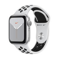 Apple Watch Series 5 GPS 40mm Aluminum Case with Nike Sport Band (Silver/Pure Platinum and Black) MX3R2 в Mobile Butik