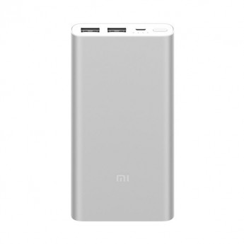 Xiaomi Mi Power Bank 2i 10000mAh (2USB) Silver в Mobile Butik