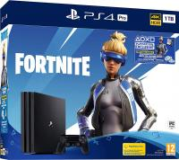 Sony Playstation 4 Pro 1TB Black + Fortnite в Mobile Butik