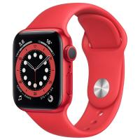 Смарт-часы Apple Watch S6 44mm PRODUCT(RED) Aluminum Case with PRODUCT(RED) Sport Band (M00M3RU/A) в Mobile Butik