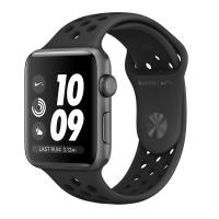 Apple Watch Series 3 38mm Aluminum Case with Nike Sport Band Space Gray/Anthracite and Black MTF12 RU в Mobile Butik