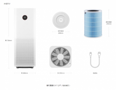 Очиститель воздуха Xiaomi Mi Air Purifier Pro (International)  в Mobile Butik